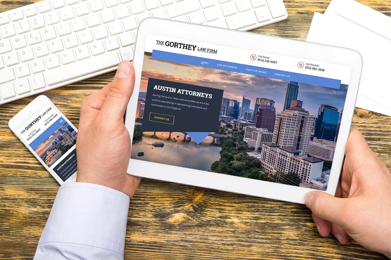 The Gorthey Law Firm Redesign