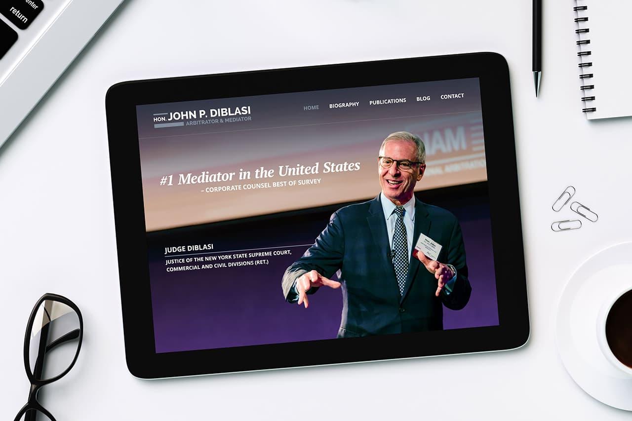 jdiblasilaw.com website redesign