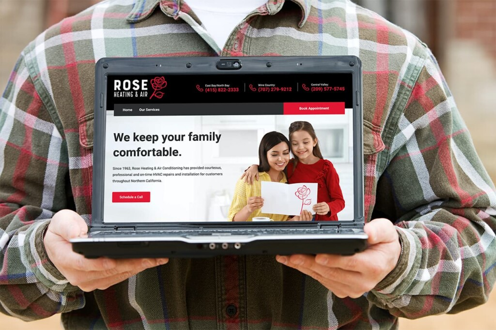 Rose Heating and Air Home Page